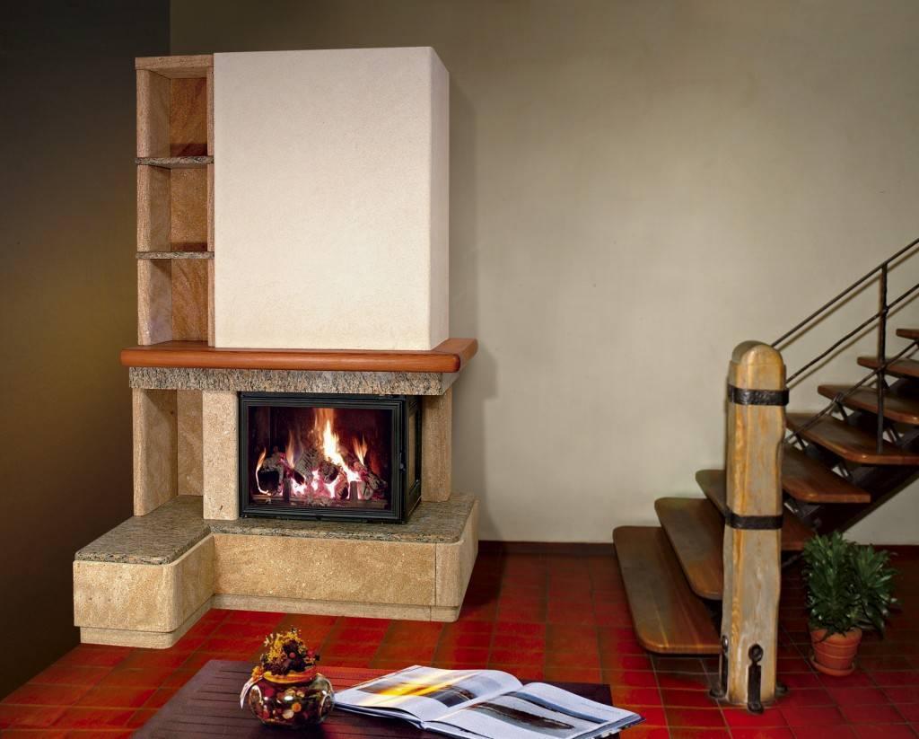 как сделать дровяной камин в доме фото