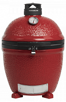 Гриль Kamado Classic Joe II Red СТАЦИОНАРНЫЙ с жароотсекателем и инструм.